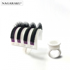 NAGARAKU U Shape Ring for eyelash extension,U-band lash holder for eyelash extensions
